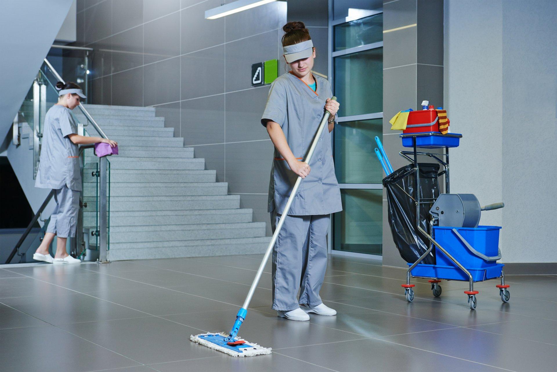 Nettoyage d'immeuble en copropriété