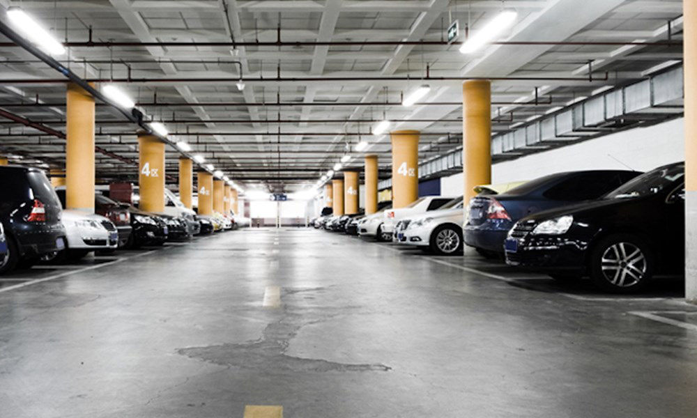 nettoyage pour parking